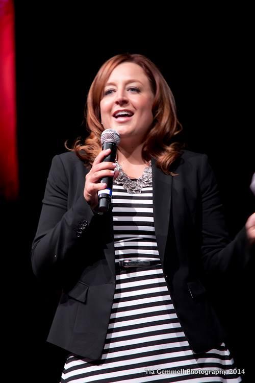 Emilie Cameron speaks at EMERGE Summit